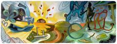 101o Aniversario del nacimiento de Roberto Matta