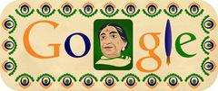 Sarojini Naidu's 135 birthday