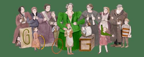 161. Geburtstag von Sidonie Werner