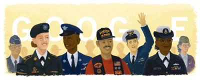 Veterans Day 2015 Doodle