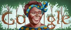 Wangari Maathai's 73rd Birthday
