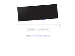 Google SOPA抗議